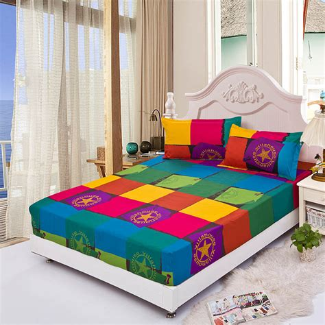 bed clothes fitted bed sheet summer elastic bed cover mattress covers