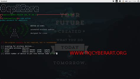 tutorial hack wifi ubuntu hacking wifi dengan wifite aircrack ng di ubuntu tkj