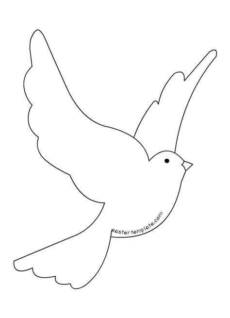 dove templates free christian dove clipart free clipart images cliparting