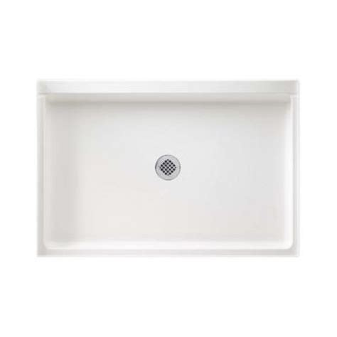 swan 32 in x 48 in solid surface single threshold shower