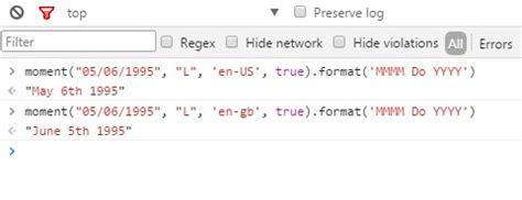 javascript format date uk javascript conditional formatting for uk non us dates