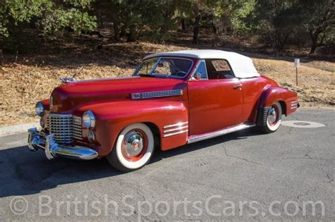 Cadillac Convertible Sports Car by Sports Cars 1941 Cadillac Series 62 Convertible