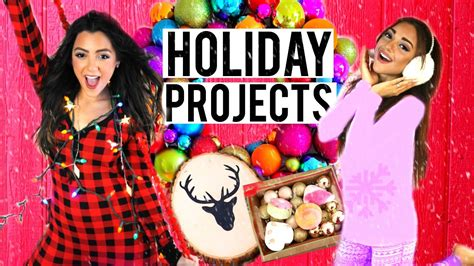 diy hairstyles niki and gabi 7 holiday diy projects diy room decor diy holiday treats