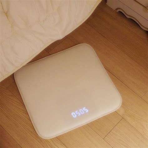 pressure sensitive alarm clock mat life changing products