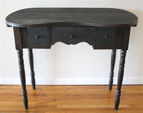 Black Antique Vanity by Antique Vanity Black Console 1 Picked Vintage