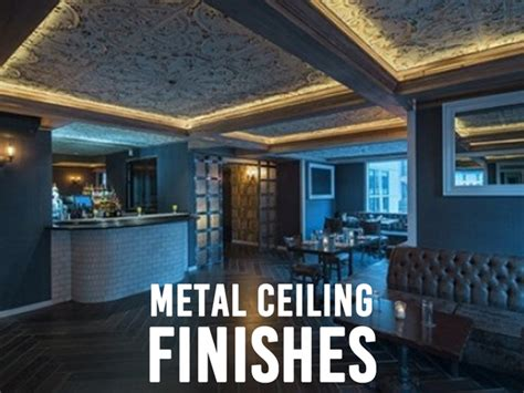 tin ceiling express metal ceiling finishes