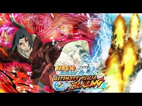 golds edo itachi  sasuke ems banner multi summon naruto ultimate ninja blazing youtube