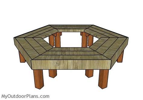 tree bench plans free the 25 best tree bench ideas on pinterest patio ideas