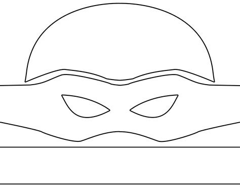 pattern for ninja turtle mask mutant ninja turtle costume