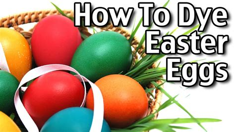 how to dye easter eggs beauty health tips