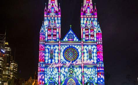 christmas lights sydney tour the spirit lights up sydney city