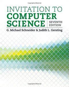 invitation to computer science leaf version books invitation to computer science 7th edition avaxhome