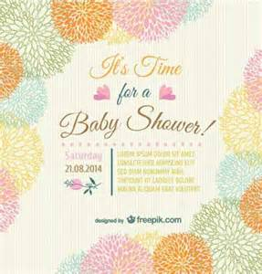 Baby Shower Invitation Designs - shower invitation cards 35 sets of printable templates to download