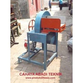 jual mesin perajang pencacah batang pisang oleh ud