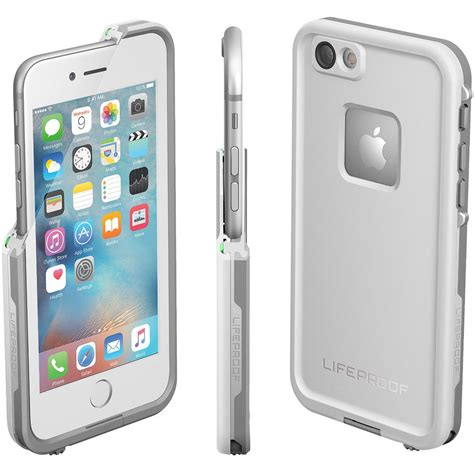 lifeproof fre waterproof case  apple iphone  white