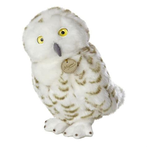 owl stuffed animal realistic stuffed snowy owl 11 inch plush bird by aurora