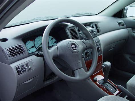 2006 Toyota Corolla Interior 2006 Toyota Corolla Ce Sedan Interior Photos Automotive