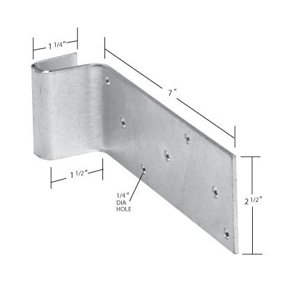 Door Stop Dimensions by Western Products Of Indiana Accessories