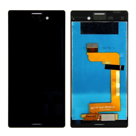 Lcd M4 Aqua skiliwah lcd display touch screen repair part for xperia m4 black free shipping dealextreme