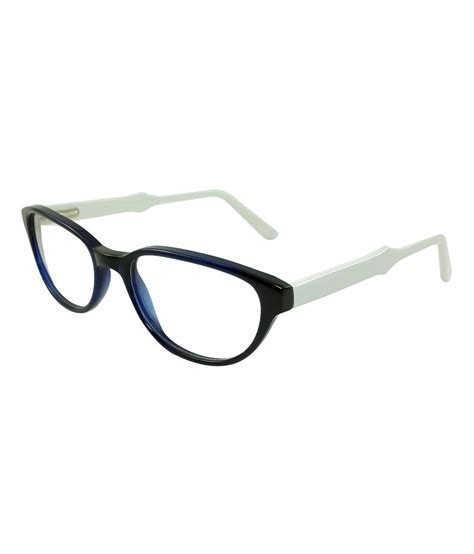 myew eyewear white non metal oval shape eyeglasses frame