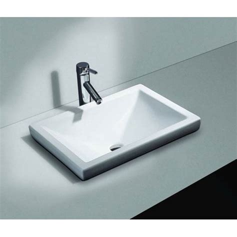 bathroom drop in sinks drop in bathroom sinks bellacor