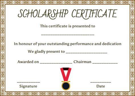 ffa certificate template ffa proficiency certificate template college scholarship