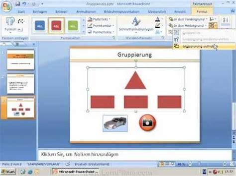 tutorial powerpoint animation 2007 tutorial powerpoint 2007 2010 objekte gruppieren in