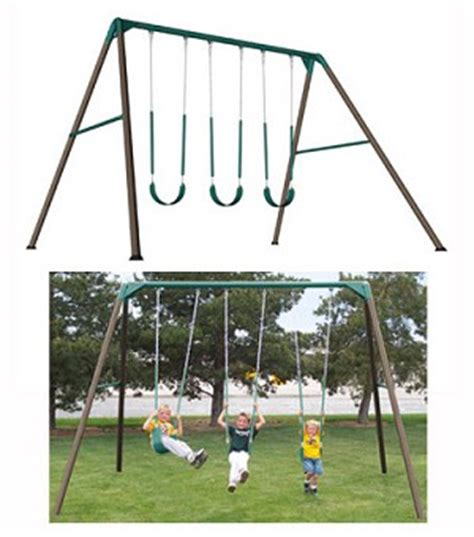 lifetime 10 swing set new lifetime 263000 heavy duty residential a frame swing