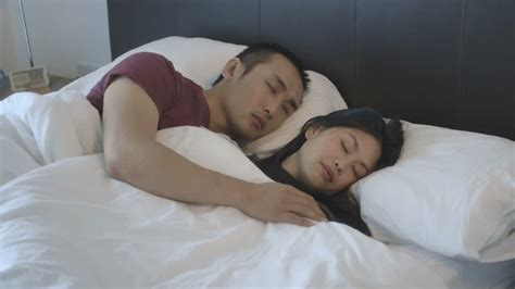 sleeping in asia woman sleeping bed asian hd stock video 658 891
