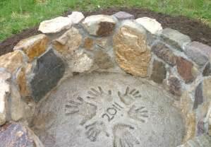 Firepit Rocks A Pit With Rocks Home Improvement