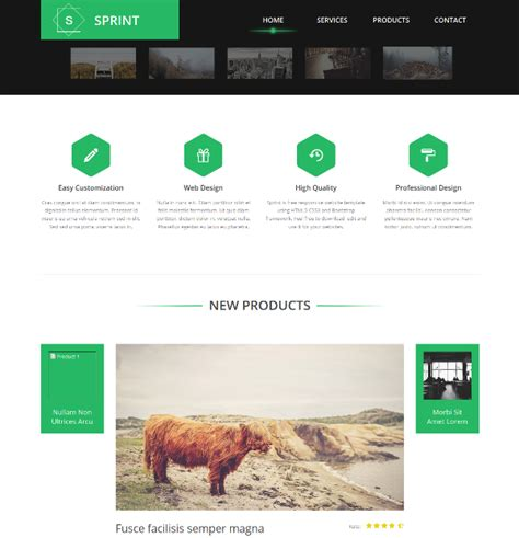 bootstrap html template 95 best free bootstrap html5 website templates