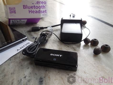 Headset Sony Sbh50 sony sbh50 stereo bluetooth headset review