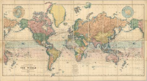map world stanford s world map 1900 majesty maps prints
