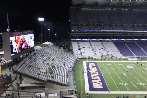 football section 300 level husky stadium football seating rateyourseats com