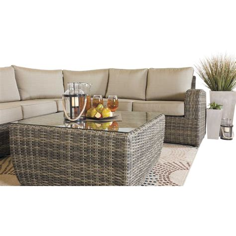 Rushreed 3 Outdoor Sectional by Brunswick 3 Outdoor Sectional Brunii 3pc World