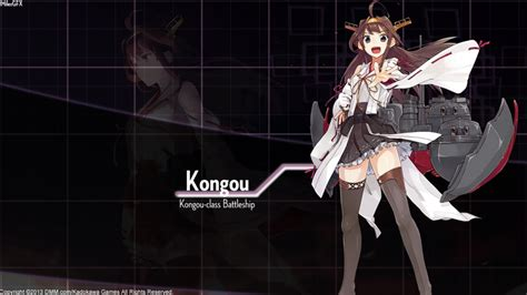 Anime 8 Mile by Kantai Collection Kongou Wallpaper By Shadowmilez On