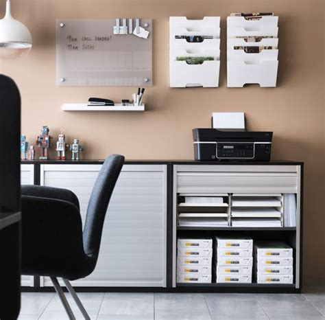 useful spaces a home office with ikea cabinets need to match actual tasks we do daily with the space we