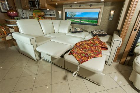 sectional sofa with pull out bed and recliner 10 best pull out sofa beds for rv motorhome