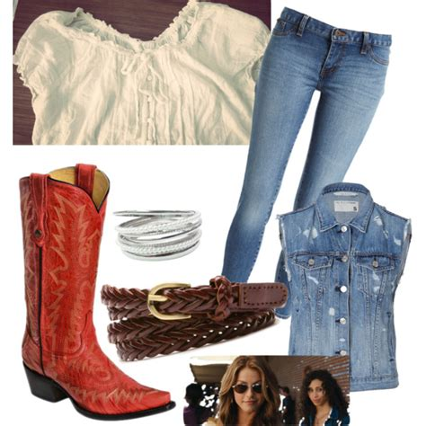 Ariel Moore inspired outfit from the 2011 film footloose   Polyvore
