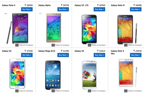 samsung with price samsung galaxy s5 and galaxy s5 lte get price drops in
