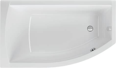 Badewanne Asymetrisch by Badewanne Asymmetrisch 160 X 95 Cm Raumsparwanne Trapezform