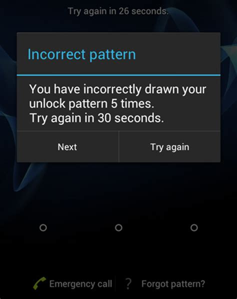 forgot pattern lock on android tablet how to unlock android phone if you forgot the password or