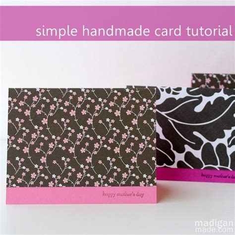 Simple Handmade Cards - best 25 easy handmade cards ideas on simple
