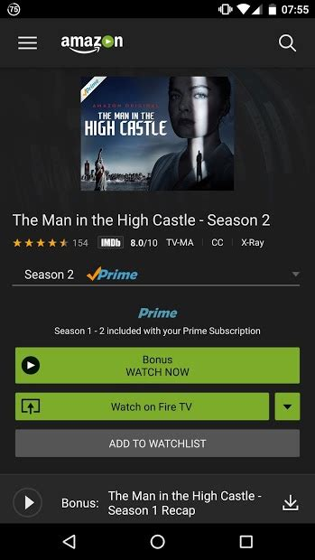 prime for android prime on chromecast android apps for chromecast