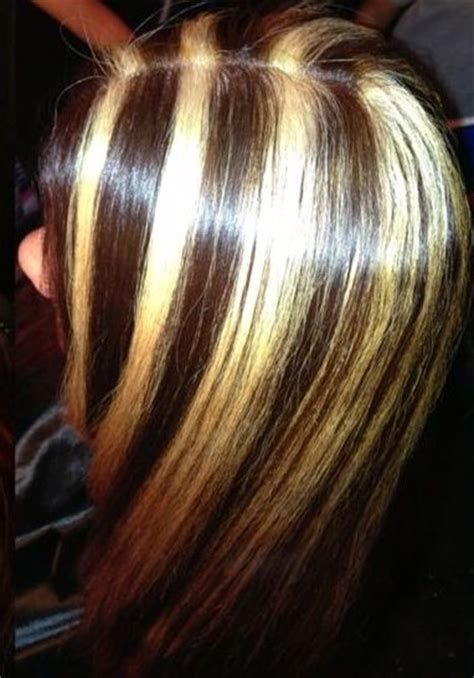 17 best ideas about blonde chunks on pinterest chunky highlight chunks hair highlights chunking pin by