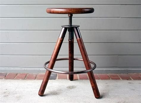 Tripod C Stool by Tripod Stool Barstools Better Living Through Design
