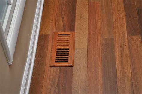 Install Hardwood Floors Around Heating & A/C Vents   One