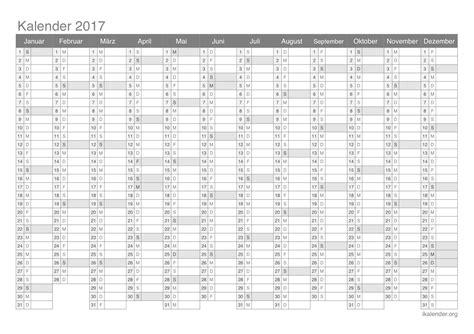 Kalender 2017 Blanko Kalender 2017 Zum Ausdrucken Ikalender Org