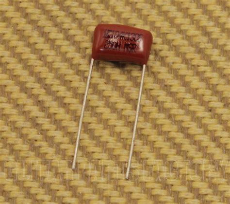 1 Mfd 50v Ceramic Capacitor - guitar parts factory genuine fender capacitors