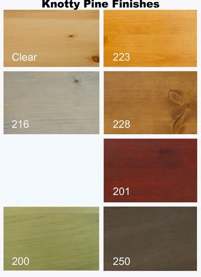 color wood stain furniture